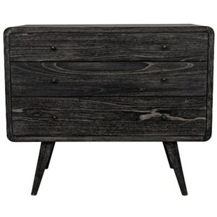 Bart 3 Drawer Accent Chest by Noir