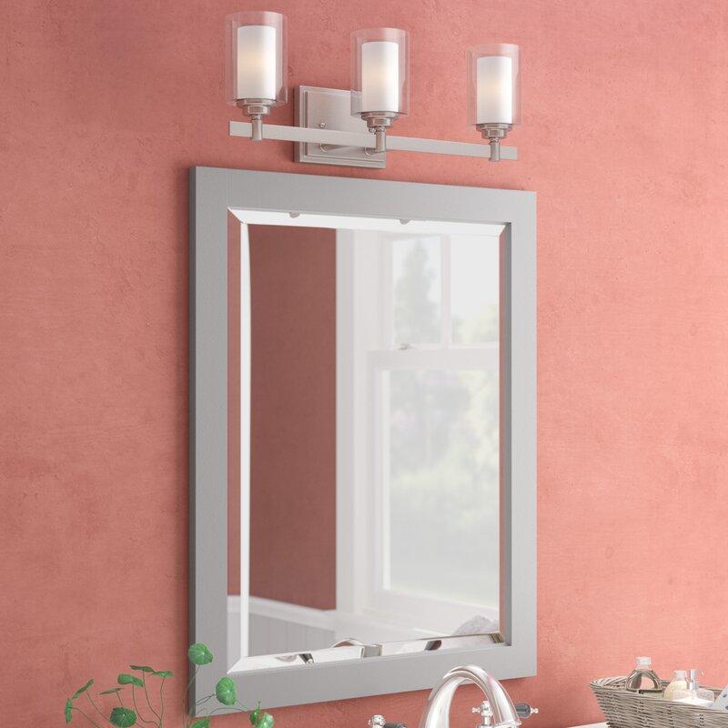 Darby Home Co Hanging Bathroom/Vanity Mirror & Reviews | Wayfair