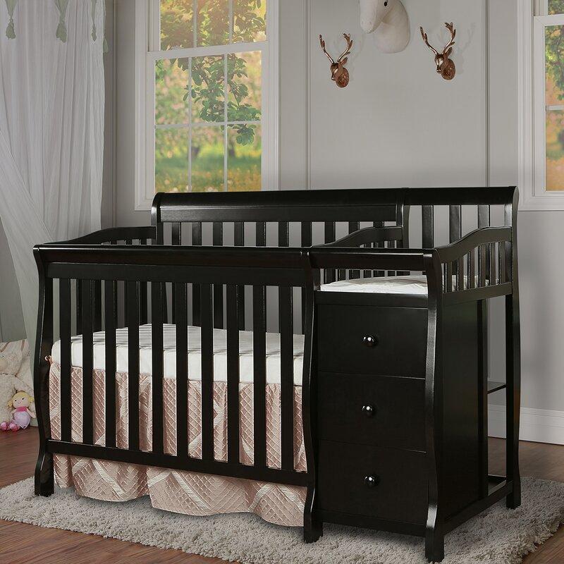 Jayden 2 In 1 Convertible Mini Crib