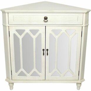 Lechlade 2 Door Corner Accent Cabinet