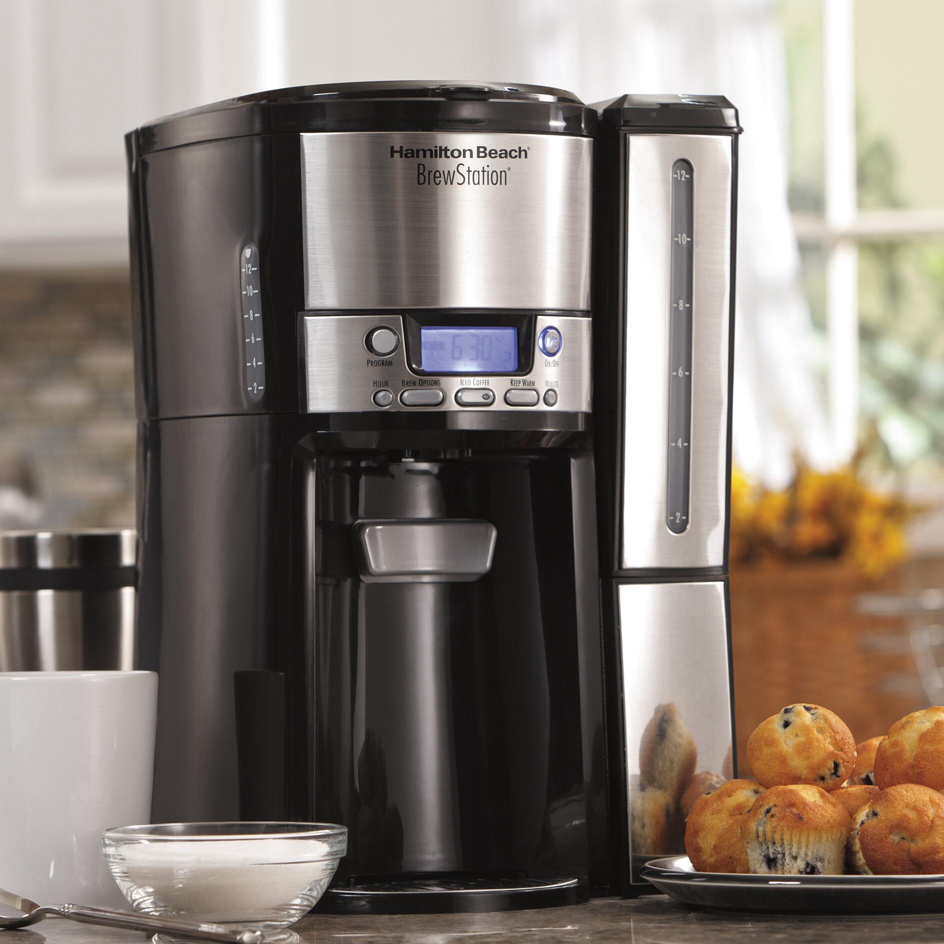 Hamilton Beach BrewStation 12-Cup Dispensing Coffee Maker & Reviews on