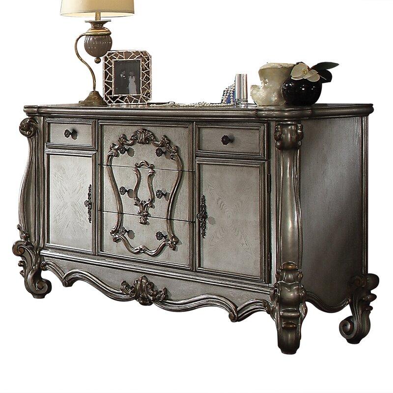 Astoria Grand Welton 5 Drawer Combo Dresser