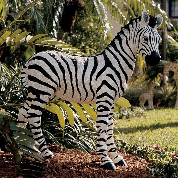Tall Zebra Statue Wayfair Ca
