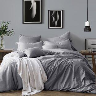 Modern Gray Silver Bedding Sets
