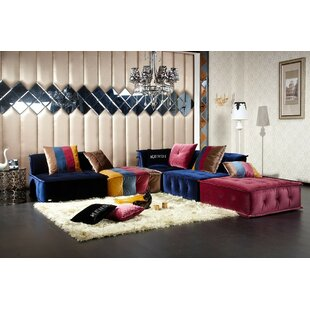 Okeefe Modular Sectional With Ottoman
