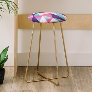 Lara Kulpa Geo Holo 25 Bar Stool East Urban Home