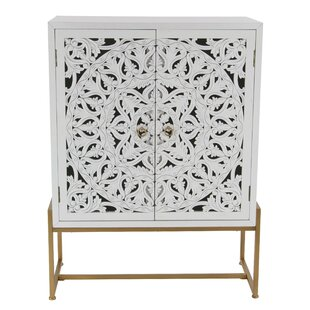 Springhill Traditional Carved 2 Door Accent Cabinet by Bungalow Rose