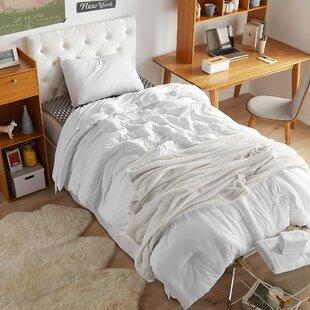 College Dorm Essentials Premium Pack Twin Xl Bare Bottom White Colour Set