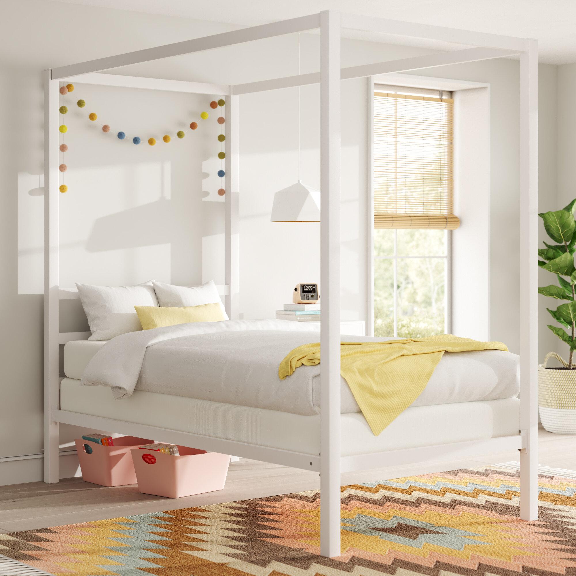 Mack Milo Ainsworth Canopy Bed Reviews Wayfair