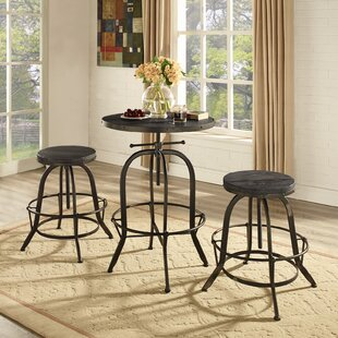 Sylvan 3 Piece Pub Table Set Modway