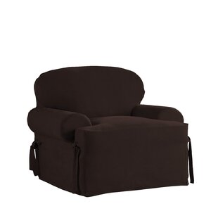 Red Barrel Studio Relaxed Smooth Furniture Slipcover