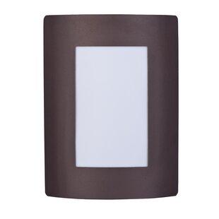 Price Check Rhea 1-Light Outdoor Flush Mount By Latitude Run