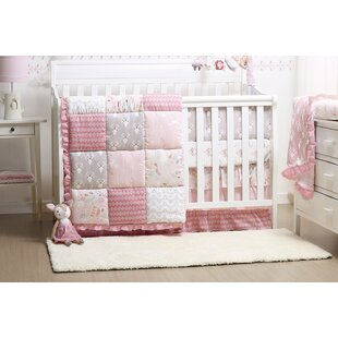 Compare Woodland Whimsy 4 Piece Crib Bedding Set By The Peanut Shell