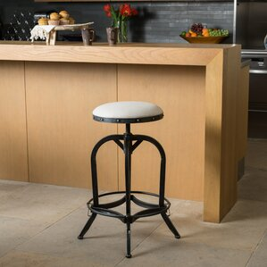 Mira Adjustable Height Swivel Bar Stool by Trent Austin Design Price
