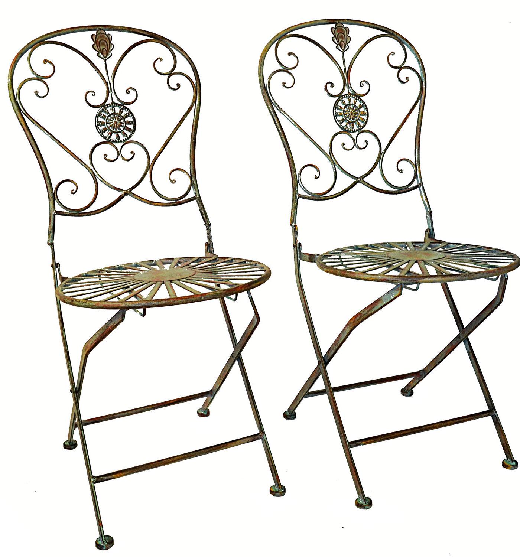 Fleur De Lis Living Culbreath Folding Patio Dining Chair Wayfair