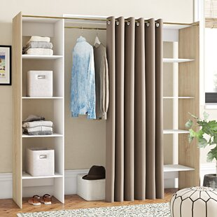 185.3cm Wide Clothes Storage System By Ebern Designs