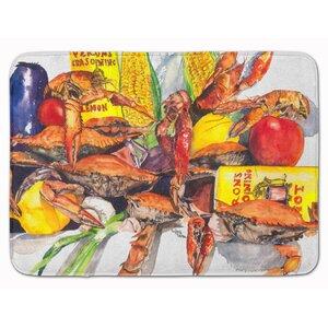 Veron's and Crabs Memory Foam Bath Rug