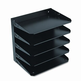 MMF Industries Steelmaster Steelmaster Multi-Tier Horizontal Letter Organizers, Five Tier