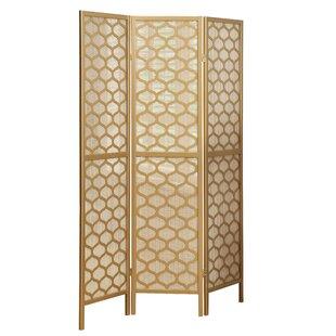 Lantern Design 3 Panel Room Divider