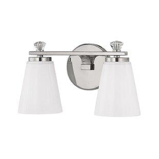 Deals Herrin 2-Light Bath Vanity Light By House of Hampton