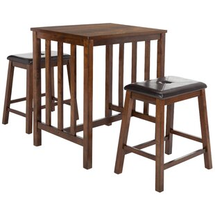 Modern & Contemporary 3 Piece Pub Table Set | AllModern