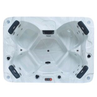 Halifax 4-Person 22 Jet Plug And Play Spa By Canadian Spa Co