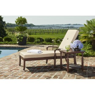 Bade Chaise Lounge with Cushion by Canora Grey