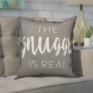 Cratylus The Snuggle is Real Throw Pillow