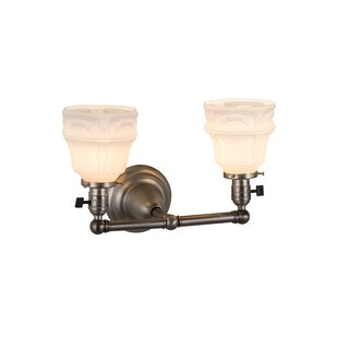 August Grove Mosely 2-Light Vanity Light