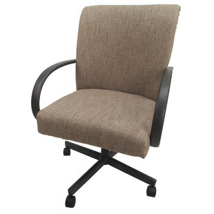 Holyfield Swivel Office Chair by Symple Stuff Great price