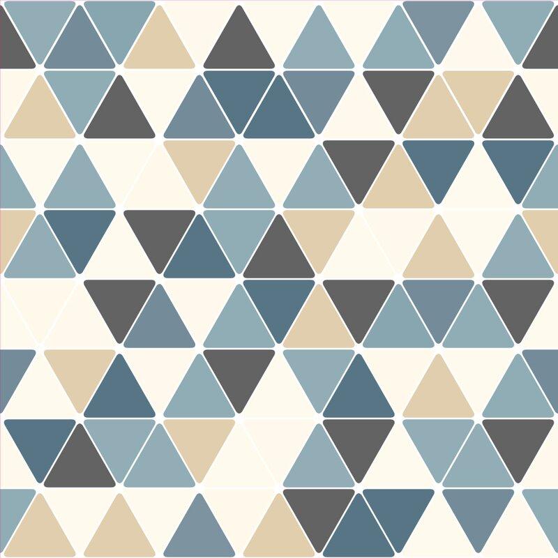 Wallums Wall Decor Triangles 4 L X 24