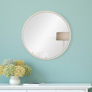 Compare & Buy Charlette Distressed Metal Wall Mounted Mirror By Highland Dunes