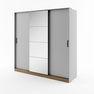 Dukes 3 Door Sliding Wardrobe By Ebern Designs