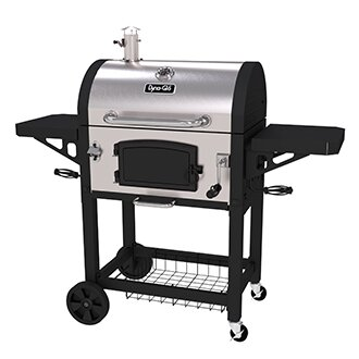 Charcoal Grill with Side Shelves Dyna-Glo