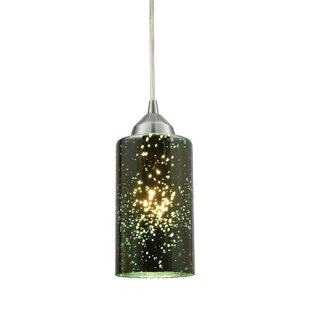 Burks 1-Light Cylinder Pendant