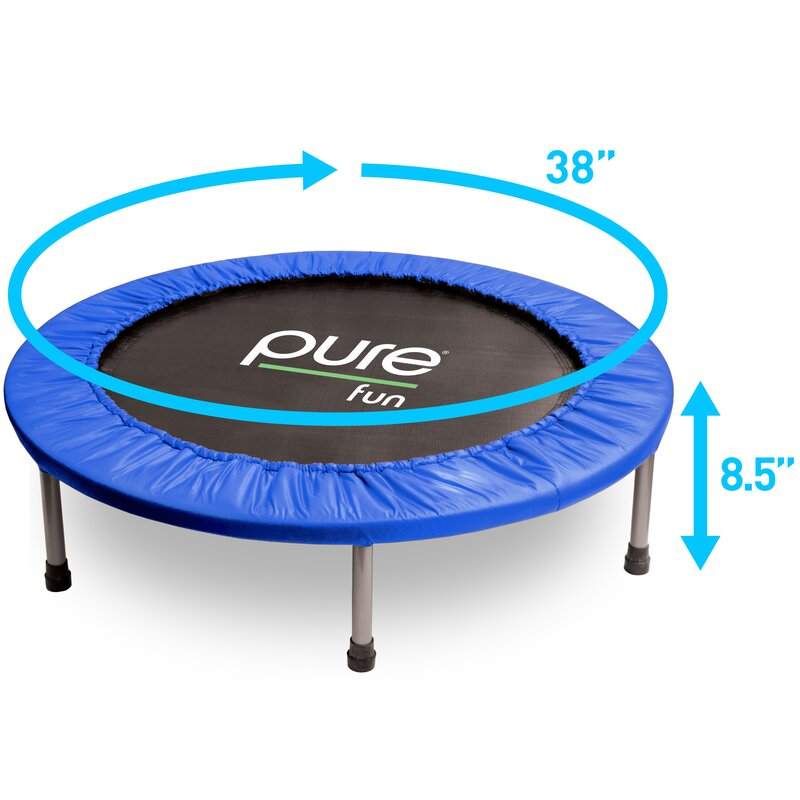 """Blue Workout Yoga Gear Yard Fun Training Airzone 38/"""" Fitness Band Trampoline"""