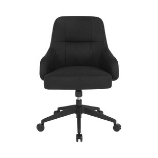 Fuselier Upholstered Mid-Back Office Chair by Orren Ellis