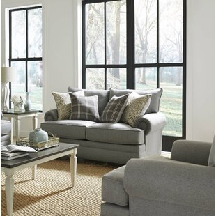 Stoke Bishop 64 Rolled Arm Loveseat by Canora Grey