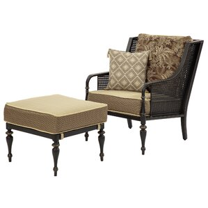 Sherborne Armchair and Ottoman by Bombay Outdoors