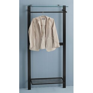 Hagert 80cm Wide Clothes Rack By Ebern Designs