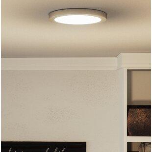 Orren Ellis Reider 1-Light LED Flush Mount
