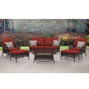 Kinnison 6 Piece Sofa Set with Cushions
