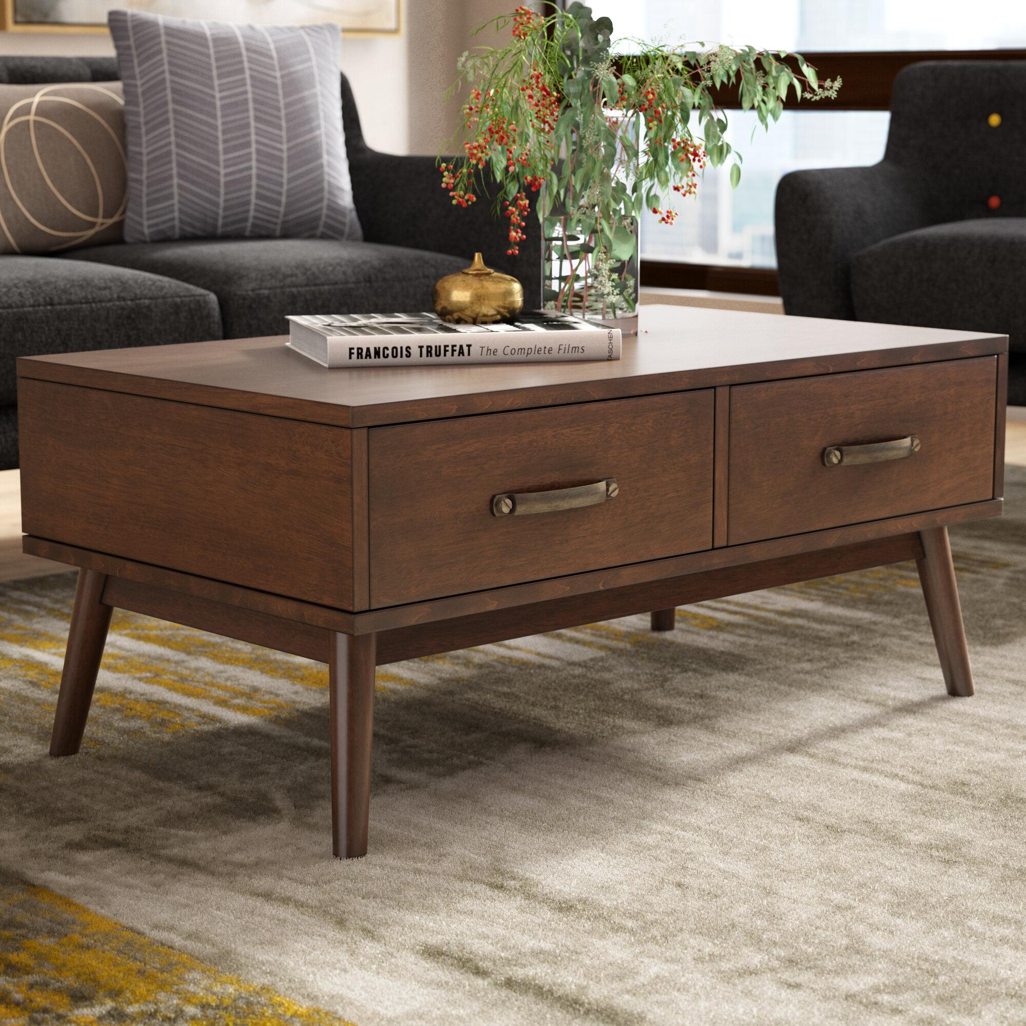 Ripton Mid Century Modern Coffee Table Reviews Joss Main