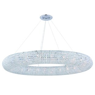 Rosdorf Park Lowenthal 30-Light Crystal Chandelier