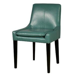 Thorton Bonded Leather Upholstered Dining..