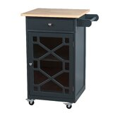 Adayre Amelie Kitchen Cart by Ebern Designs