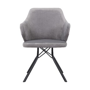 Albina Upholstered Dining Chair by Wrough..