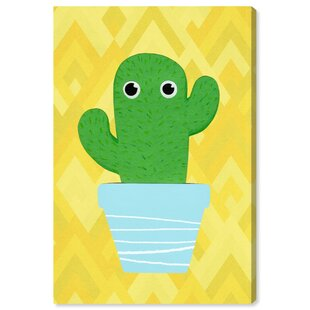 Hiedi Cactus Canvas Art By HoneyBee Nursery