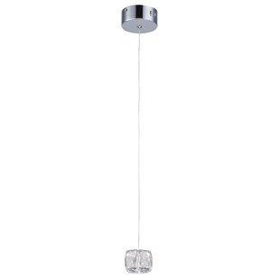Crumble 1-Light Crystal Pendant by Orren Ellis