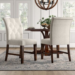 Best Deals Calila Upholstered Dining Chair (Set of 2) by Birch Lane™ Heritage Reviews (2019) & Buyer's Guide
